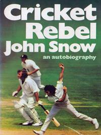 John-Snow-autograph-signed-Cricket-Rebel-autobiography-book-england-ashes-australia-fast-bowler-sussex-ccc-memorabilia-1976-first-edition-hamlyn-signature
