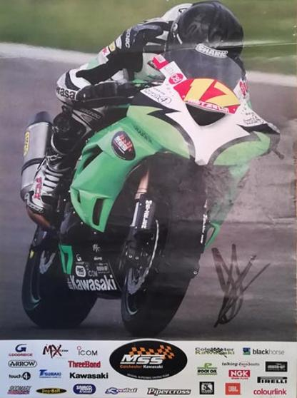 Julien-Dacosta-autograph-signed-motor-cycling-memorabilia-Colchester Kawasaki-BSB-British-Superbike-Championships-17