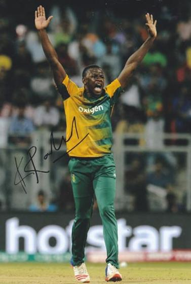 Kagiso-Rabada-autograph-signed-south-africa-cricket-memorabilia-kg-fast-bowler-proteas-kent-ccc-lions-jozi-stars-gauteng-signature