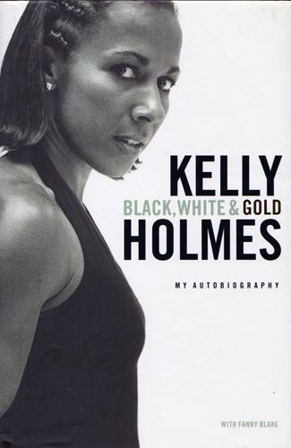 Kelly-Holmes-autograph-signed-athletics-memorabilia-autobiography-black-white-and-gold-800-m-1500-metres-olympic-champion-gold-1