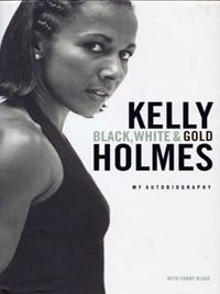 Kelly-Holmes-autograph-signed-athletics-memorabilia-autobiography-black-white-and-gold-800-m-1500-metres-olympic-champion-gold-200