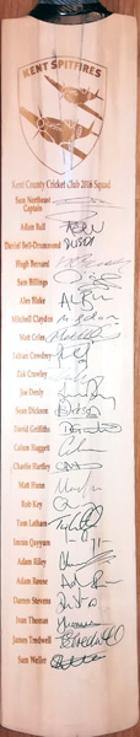 Kent-cricket-memorabilia-2016-spitfires-signed-cricket-bat-sam-northeast-billings-bell-drummond-rob-key-fabian-cowdrey-denly-tom-latham-darren-stevens-kccc-autographs