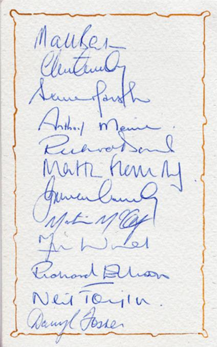 Kent-cricket-memorabilia-kent-cricket-autographs-1990-1991-signed-team-sheet-squad-Kent-Spitfires-St-Lawrence-Ground-Cowdrey-Benson-Ellison-Fleming-Marsh