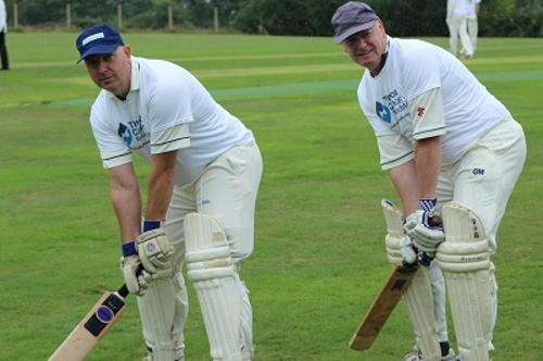 Kevin Igglesden Pembury Cricket club charity day opening pair iggy warren wazza packman memorial match