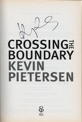 Kevin-Pietersen-signed-autobiography-Crossing-the-Boundary-cover-cricket-memorabilia-autographed-book-signature