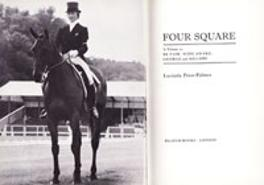 LUCINDA PRIOR PALMER memorabilia signed book Four Square Three Day Eventing memorabilia LUCINDA GREEN memorabilia autograph