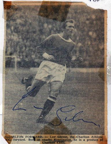 Len-Glover-autograph-signed-Charlton-Athletic-FC-football-memorabilia-signature-photo-CAFC-Addicks-Leicester-City-winger-lenny-glover