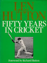 Len-Hutton-autograph-signed-england-cricket-memorabilia-book-fifty-years-in-cricket-yorkshire-sir-captain-364