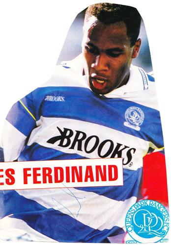 Les-Ferdinand-autograph-signed-QPR-fc-football-memorabilia-queens-park-rangers-loftus-road-signature-newcastle-united-england-centre-forward