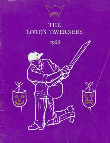 Lords-Taverners-cricket-memorabilia-signed-charity-celebrity-match-day-programme-shanklin-club-isle-of-wight-1986-jim-laker-gover-surridge-mick-mcmanus-johnny-blythe