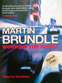 MARIN-BRUNDLE-memorabilia-signed-autobiography-Working-the-Wheel-formula-one-memorabilia-autograph