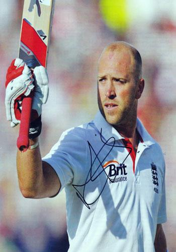 MATT PRIOR memorabilia signed autograph Sussex CCC England Signed Test Match cricket mag pic