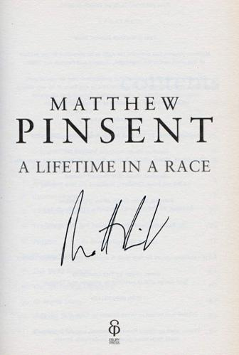 MATTHEW-PINSENT-autograph-signed-autobiography-lifetime-in-a-race-olympics-rowing-memorabilia-autographed-olympic-games-gold-medal-signature-rower
