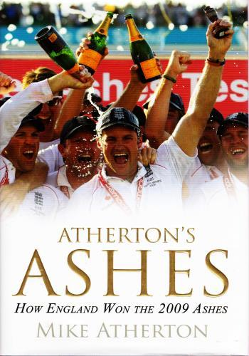 MICHAEL ATHERTON memorabilia Mike Atherton autograph signed Ashes cricket memorabilia book autograph cover