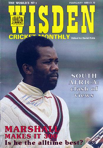 Malcolm-Marshall-autograph-West-Indies-cricket-memorabiliasigned-1989-Wisden-magazine-cover
