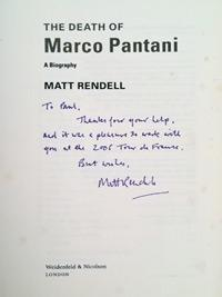 Marco-Pantani-cycling-memorabilia-signed-book-biography-death-of-matt-rendell-2006-il-pirata-tour-de-france-giro-ditalia-king-of-the-mountains-mercatone-uno-200