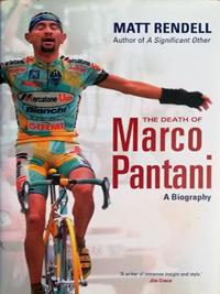 Marco-Pantani-cycling-memorabilia-signed-book-biography-death-of-matt-rendell-2006-nicholson-il-pirata-giro-ditalia-tour-de-france-king-of-the-mountains