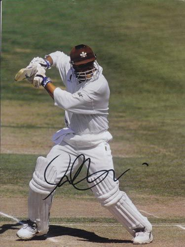 Mark-Butcher-autograph-signed-Surrey-CCC-Cricket-memorabilia-England-signature-Oval