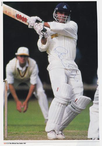 Mark-Butcher-autograph-signed-Surrey-CCC-Cricket-memorabilia-1997 England-test-match-signature