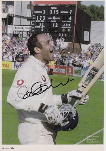 Mark-Butcher-autograph-signed-Surrey-CCC-Cricket-memorabilia-England-test-match-signature-century