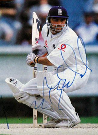 Mark-Ramprakash-autograph-signed-Middlesex-Surrey-Cricket-memorabilia-ccc-England-test-match-batsman-signature