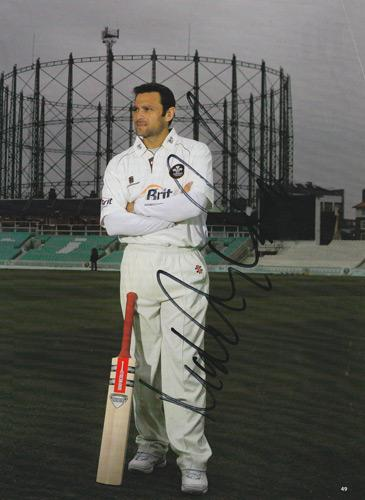 Mark-Ramprakash-autograph-signed-Surrey-CCC-Cricket-memorabilia-Oval-Gas-Tanks-England