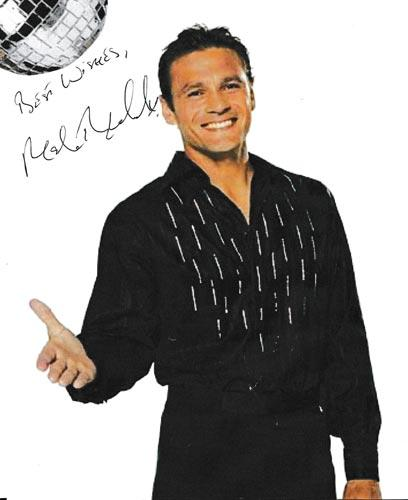 Mark-Ramprakash-autograph-signed-strictly-come-dancing-memorabilia-2006-champion-cricket-surrey-england-glitter-ball