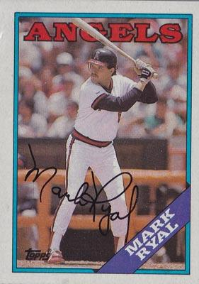 Mark-Ryal-autograph-signed-California-Angels-baseball-memorabilia-outfielder-topps-trading-card-1988