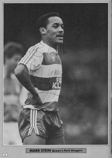 Mark-Stein-autograph-signed-QPR-fc-football-memorabilia-queens-park-loftus-road-forward-striker-signature