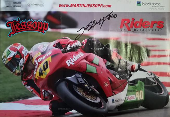 Martin Jessopp-autograph-Davo-signed-motor-cycling-memorabilia-riders of bridgwater black horse BSB-British-Superbike-Championship-40