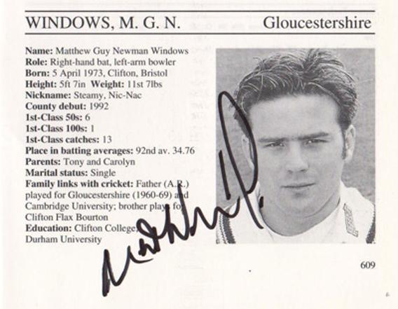 Matt-Windows-autograph-signed-gloucestershire-cricket-memorabilia-gloucs-ccc-batsman-whos-who-matthew-signature