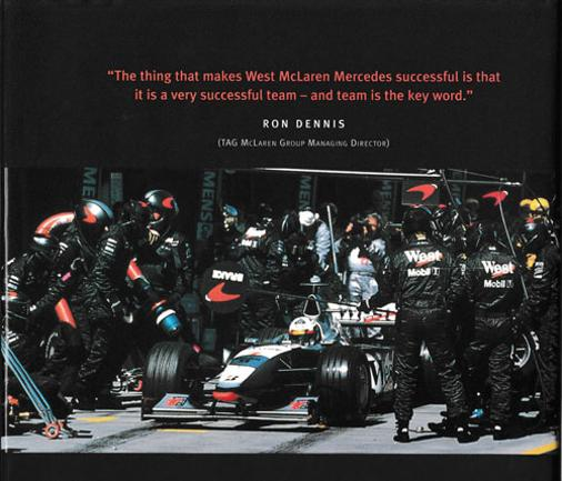 Mclaren-Mercedes-motor-racing-memorabilia-formula-one-west-signed-teamwork-book-ron-dennis-autograph-gerald-donaldson-1998-first-edition-signature
