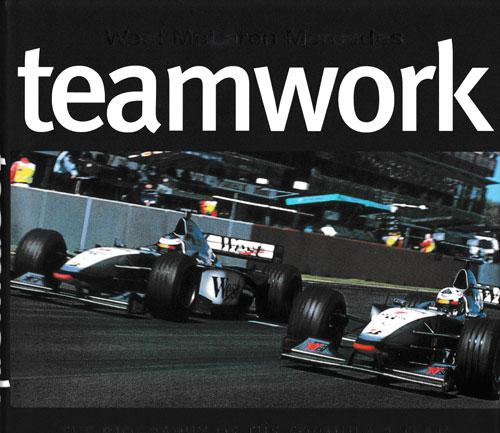 Mclaren-Mercedes-motor-racing-memorabilia-formula-one-west-signed-teamwork-book-ron-dennis-autograph-gerald-donaldson-first-edition-1998