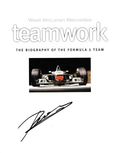 Mclaren-Mercedes-motor-racing-memorabilia-formula-one-west-signed-teamwork-book-ron-dennis-autograph-gerald-donaldson-first-edition-signature-1998