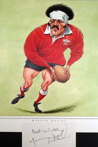 Mervyn-Davies-autograph-signed-Welsh-rugby-memorabilia-Wales-British-Lions-Merv-the-Swerve