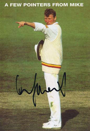 Michael-Atherton-autograph-signed-England-cricket-memorabilia-test-match-ashes-lancashire-athers-captain-cockroach-sky-sports-cambridge-fantasy