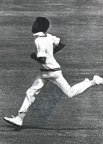 Michael-Holding-autograph-signed-west-indies-cricket-memorabilia-whispering-death-jamaica-lancs-derbys-ccc