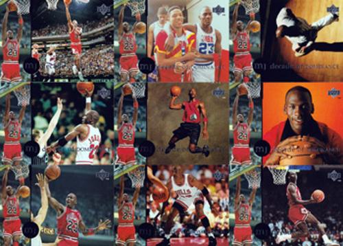 MICHAEL JORDAN - Decade of Dominance trading cards
