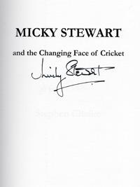 Micky Stewart signed autobiography Surrey cricket memorabilia  autograph book