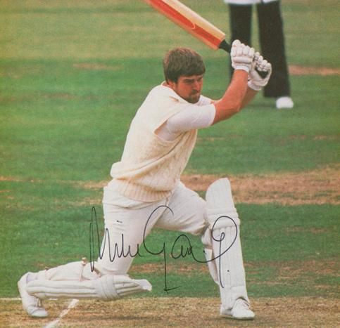 Mike-Gatting-autograph-signed-Middlesex-cricket-memorabilia-England-test-Middx-CCC-Fat-Gatt-captain