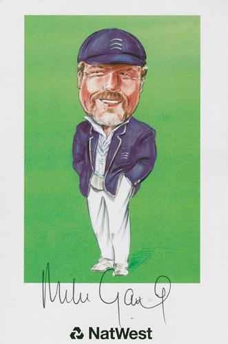 Mike-Gatting-autograph-signed-Middlesex-cricket-memorabilia-England-test-match-captain-gatt-Middx-CCC