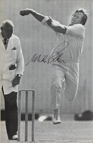 Mike-Procter-autograph-signed-Gloucestershire-cricket-memorabilia-South-Africa-test-match-all-rounder-signature-SA-Gloucs-CCC