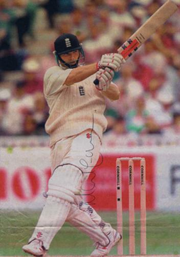 NASSER-HUSSAIN-autograph-signed-Essex-cricket-memorabilia-England-test-match-captain-batsman
