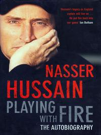 NASSER HUSSAIN (Essex & England) signed copy of