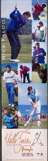 Nick-Faldo-memorabilia-Nick-Faldo-autograph-signed-golf-memorabilia-Pringle-collection-golfing-poster-Nick-Faldo-collection-signature-US-Masters-British-Open-champion-Ryder-Cup