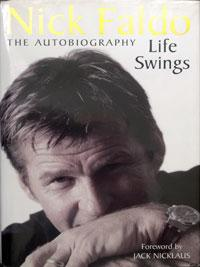 NICK FALDO (Six times Major winner) signed autobiography