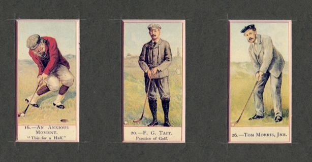 Old-Tom-Morris-Jnr-FG-Tait-autograph-signed-golf-memorabilia-cards-prints-anxious-moment