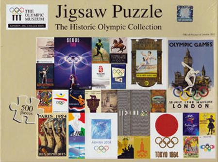 Olympic jigsaw puzzle historic collection games