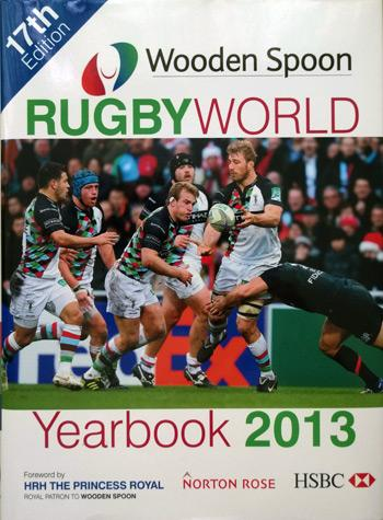 PHIL-VICKERY-memorabilia-signed-Rugby-World-2013-yearbook-Raging-Bull-memorabilia-Wooden-Spoon-charity-autograph-350