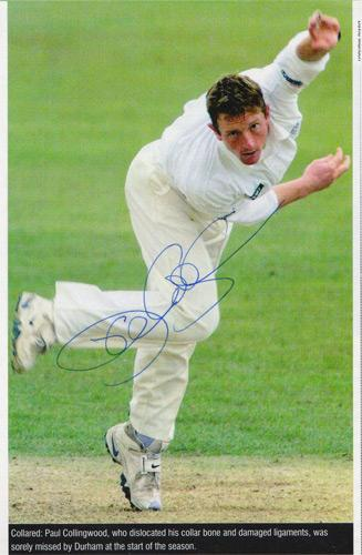 Paul-Collingwood-autograph-signed-England-cricket-memorabilia-all-rounder-Durham-CCC-Brigadier-Block-Colly-2005-Ashes